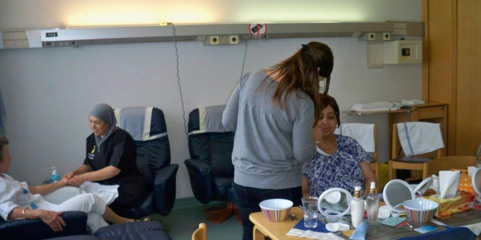 Atelier bien-être à l'hôpital Saint-Jean